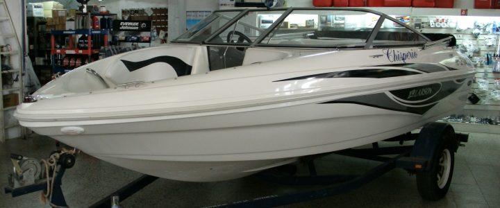 LARSON 190 C/VOLVO PENTA 135 HP.
